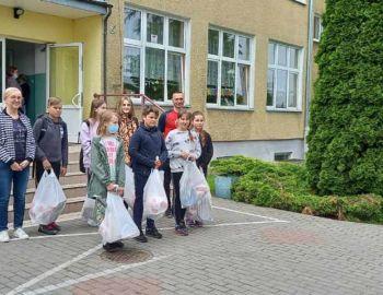 Zakończenie konkursu plastycznego w SP Fabianki