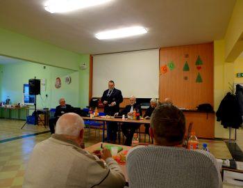 Doroczne spotkanie z przedstawicielami OMPZW , w dniu 5 stycznia, we Włocławku.