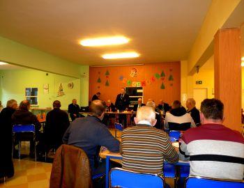 Spotkanie w sprawie sędziowań zawodów wędkarskich.
